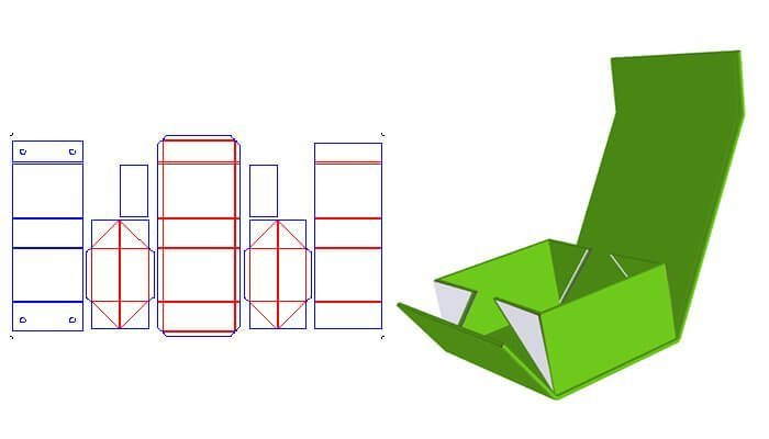 Collapsible Rigid Box Style