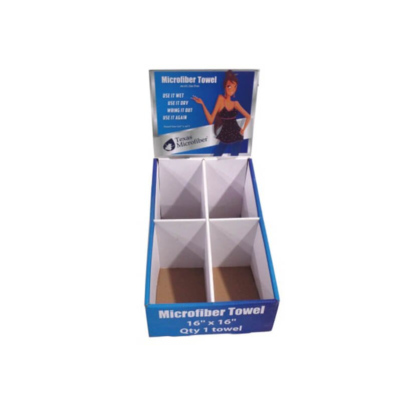 Corrugated Display Tray, POS, PDQ