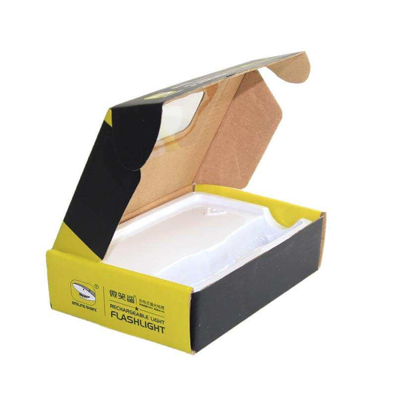 Corrugated Mailer Box With Window