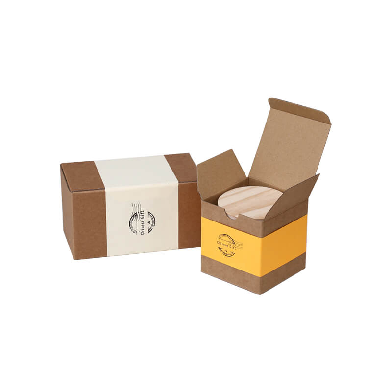 Flexo printting retail packaging box with paper sleeve