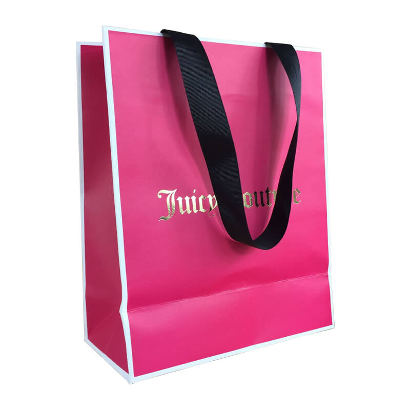 Full Over Offset Printed Paper Bags