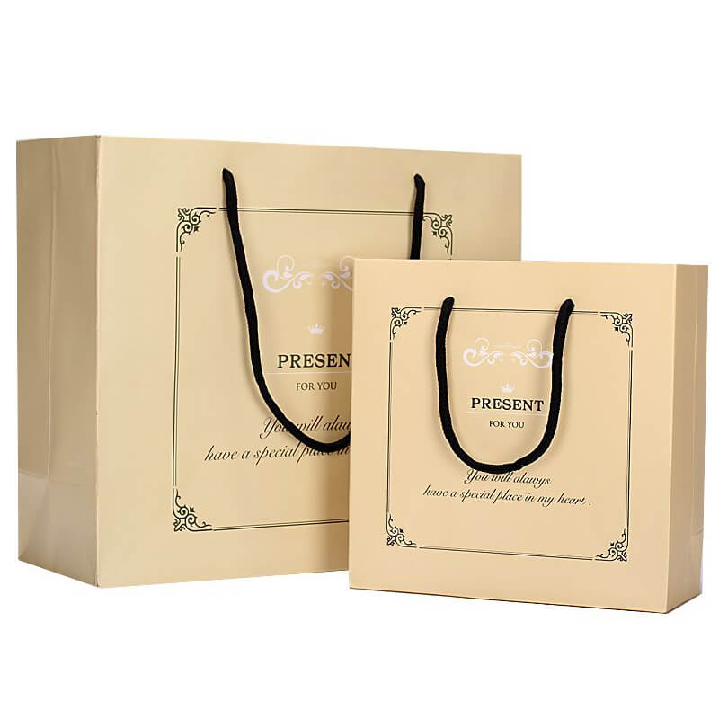 Light Yellow Paper Bags