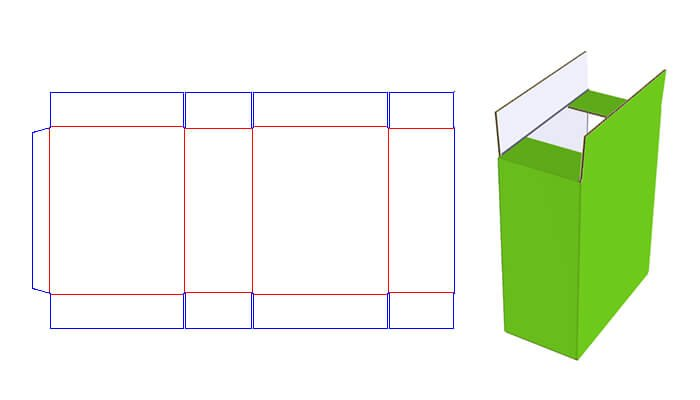 Slotted Carton Box Style