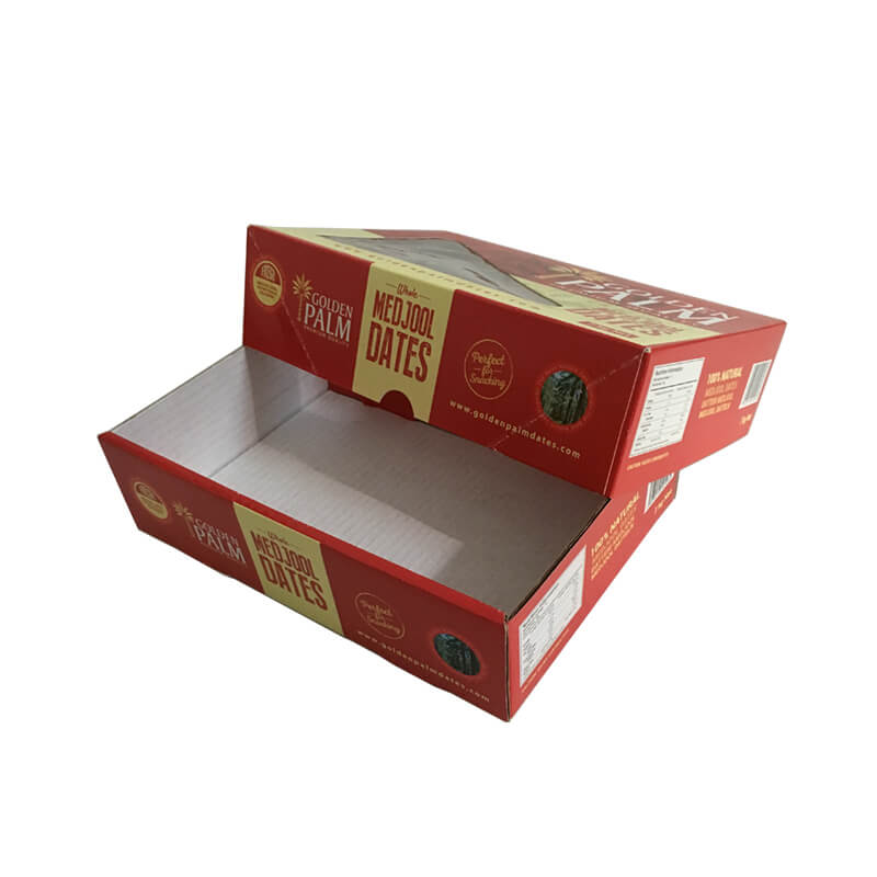 Top and Bottom Fruit Packaging Box