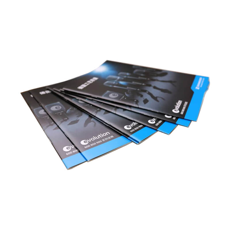 matt plastic laminated paper manual