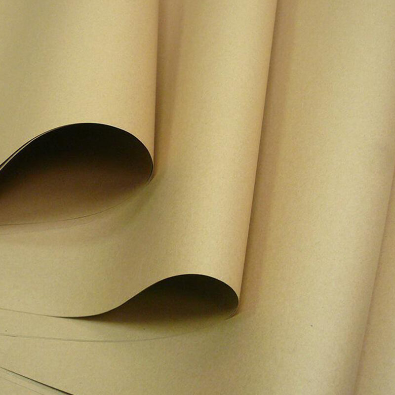 Brown Kraft Paper Material Sheet