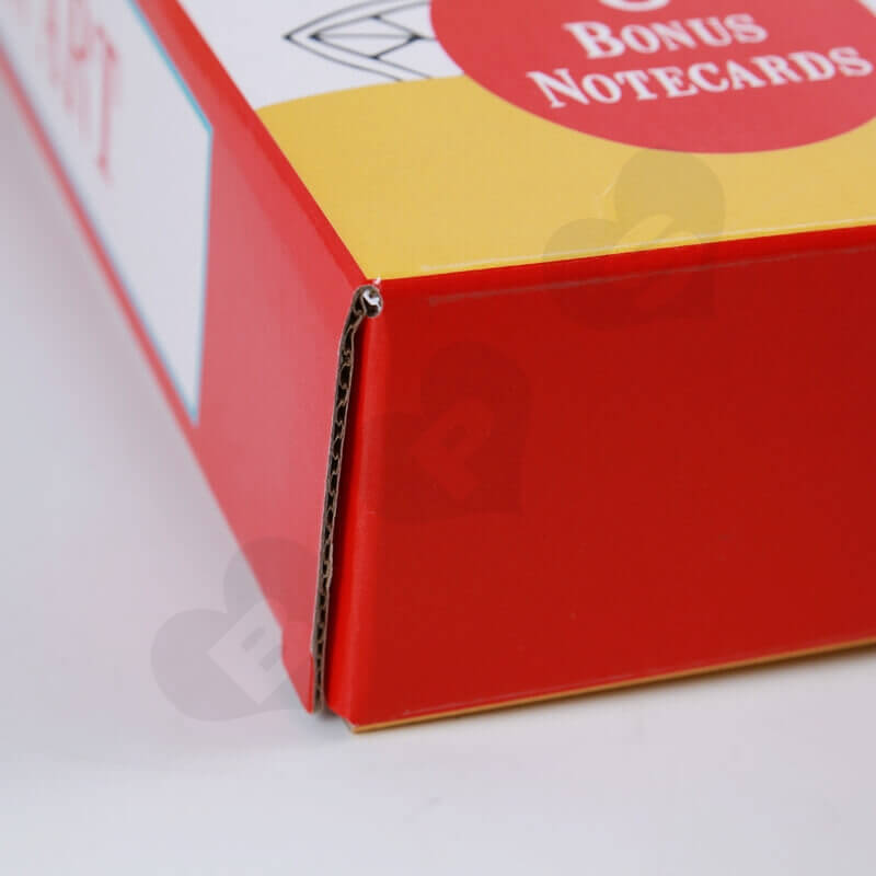 Color Printed Cardboard Box For Food side view five