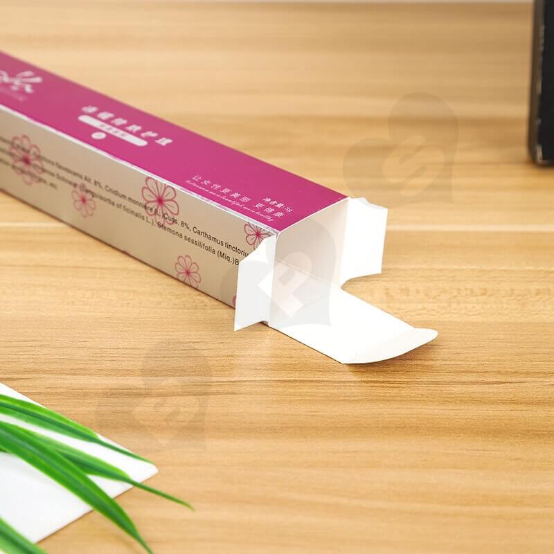 Color Printed Paperboard Box For Bacterial Gel side view five