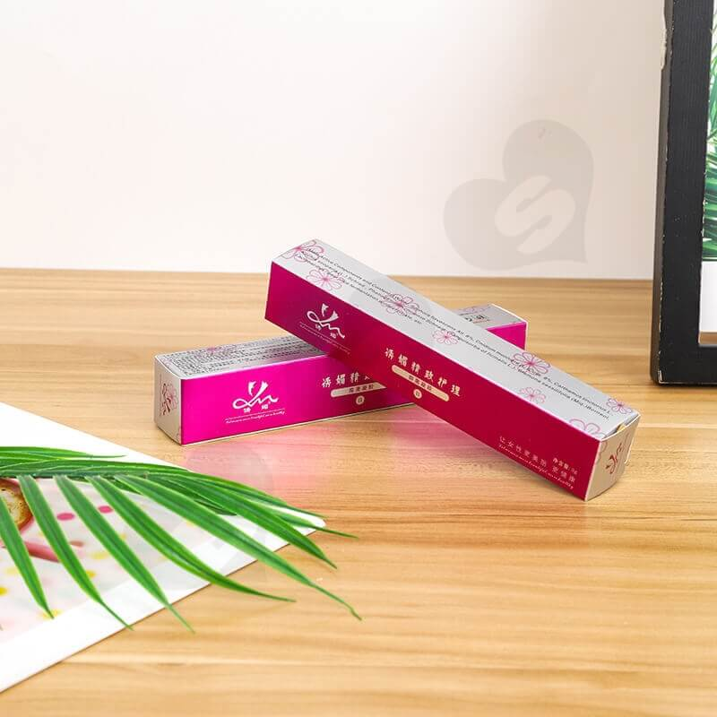 Color Printed Paperboard Box For Bacterial Gel side view one