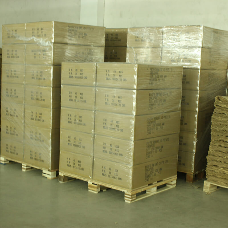 Corrugated Box Ready To Be Loaded Into Container
