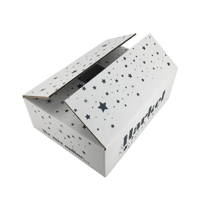 Corrugated Fiberboard Box For Apparel Shipping