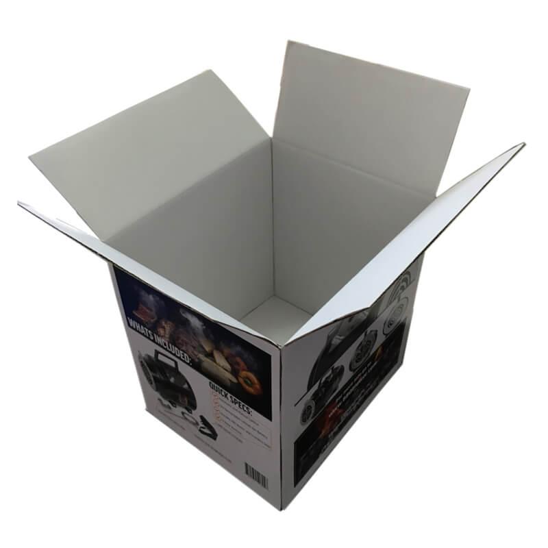 Corrugated Fiberboard In Corrugated Box