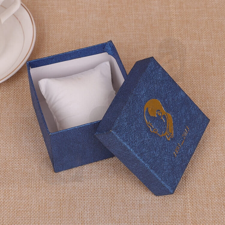 Custom Cardboard Gift Packaging Box For Watch side view four