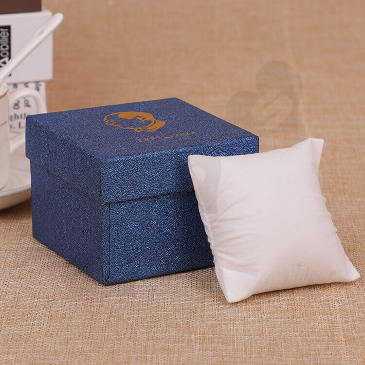 Custom Cardboard Gift Packaging Box For Watch side view one