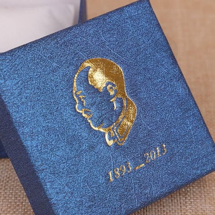 Custom Cardboard Gift Packaging Box For Watch side view three