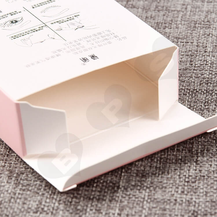 Custom Printed Cardboard Box For Eyelid Sticker side view five
