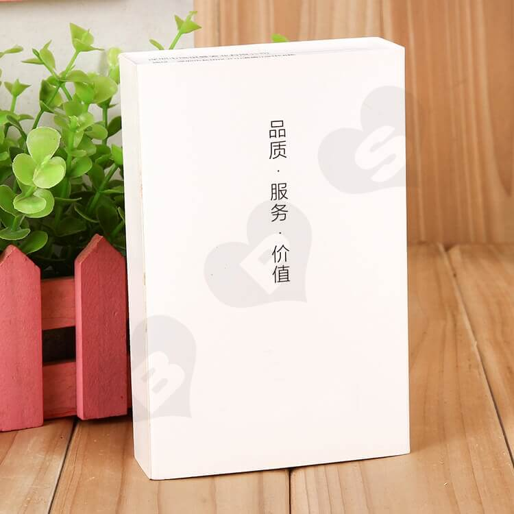 Custom Printed Drawer Box For Leather Belt side view two