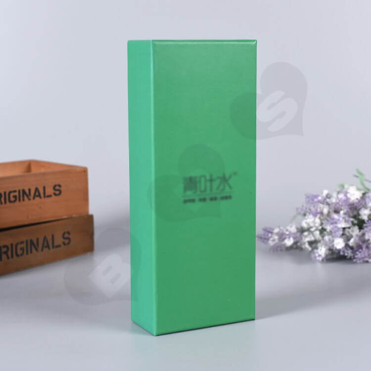 Custom Printed Gift Box For Fungicidal Liquid side view four