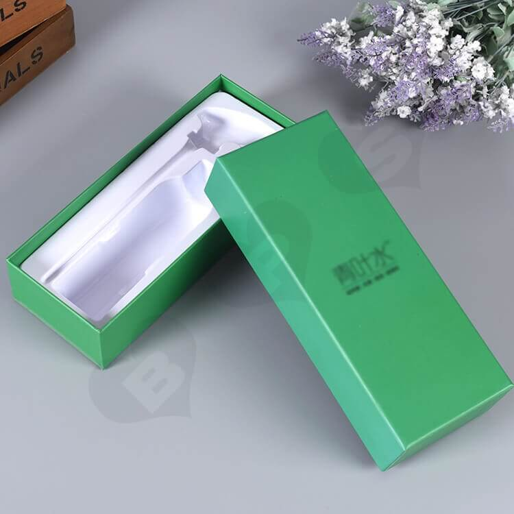 Custom Printed Gift Box For Fungicidal Liquid side view one