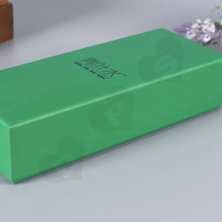 Custom Printed Gift Box For Fungicidal Liquid side view two