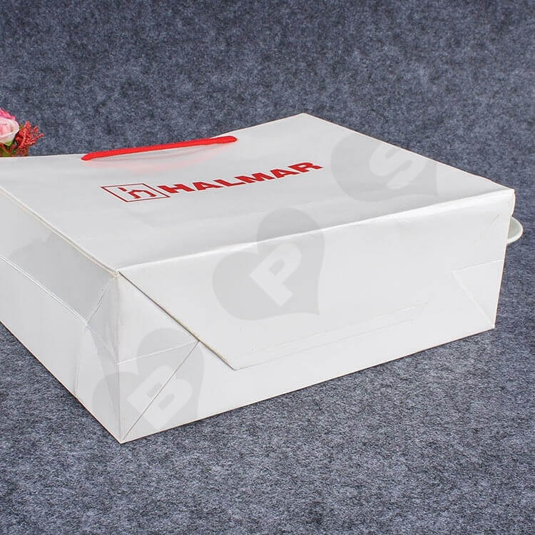 Custom Printed Paper Bag For Spare Parts side view four
