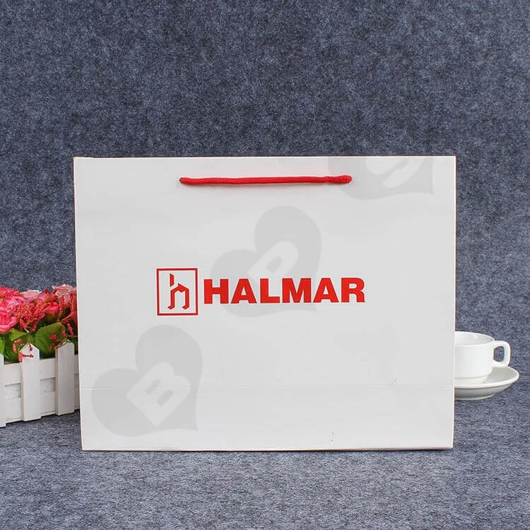 Custom Printed Paper Bag For Spare Parts side view six
