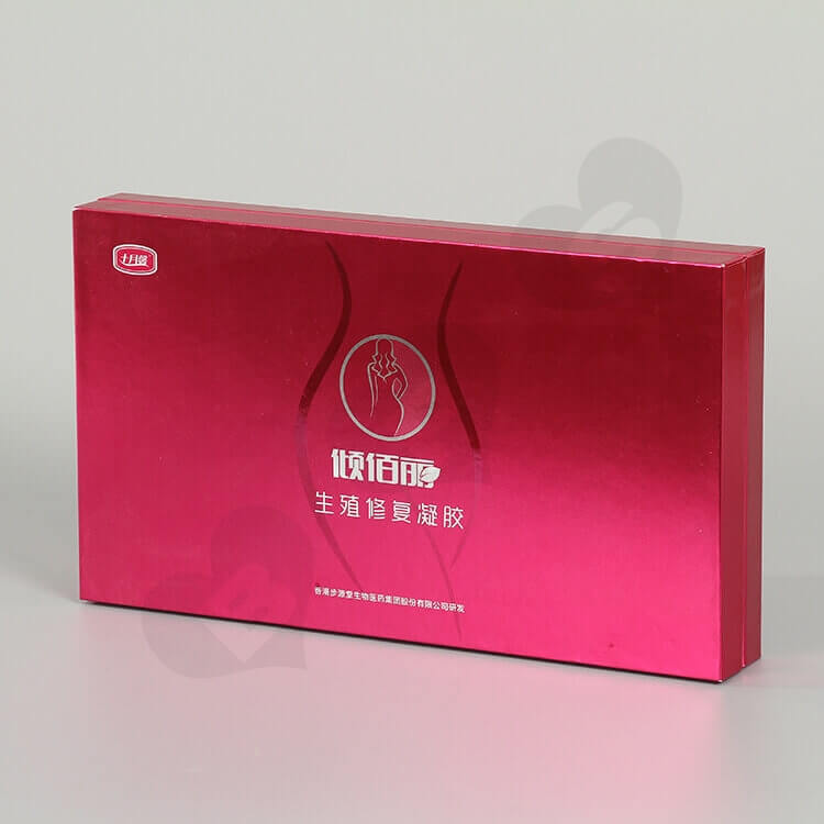 Custom Printing Cardboard Box For Productive Repair Gel side view one