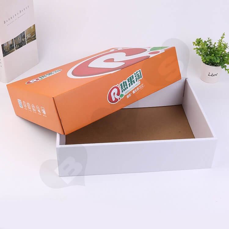 Custom Printing Corrugated Fruit Shipping Box side view one