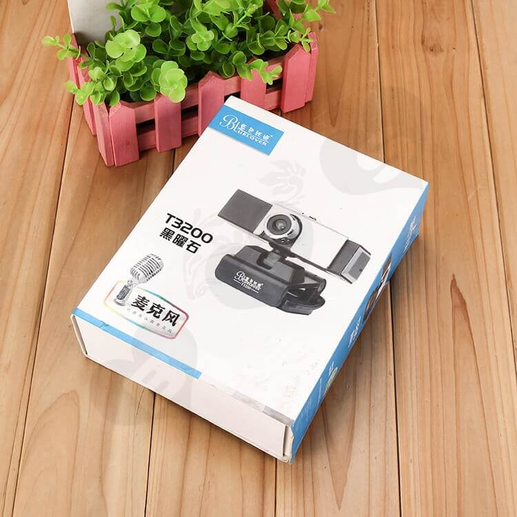 Custom Printing Mailer Box With Cardboard Sleeve For Wireless Camera side view four