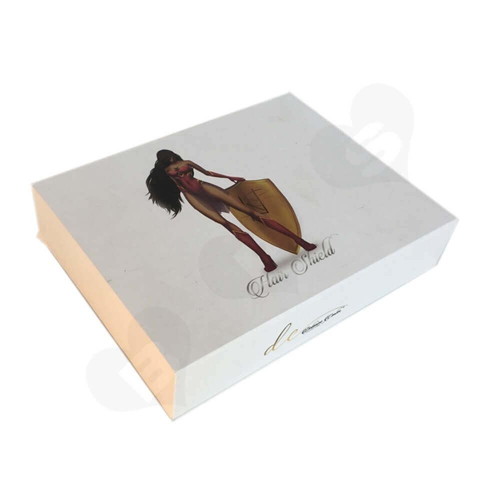 Custom Rigid Wig Drawer Box side view two