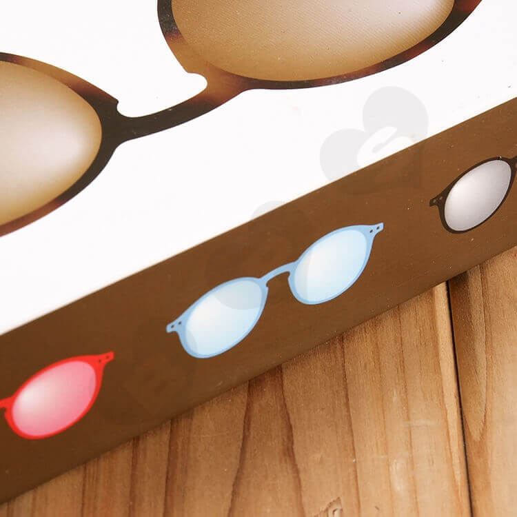Customizable Printed Drawer Box For Sunglasses side view six