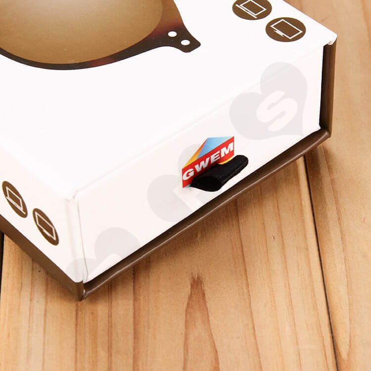 Customizable Printed Drawer Box For Sunglasses side view two