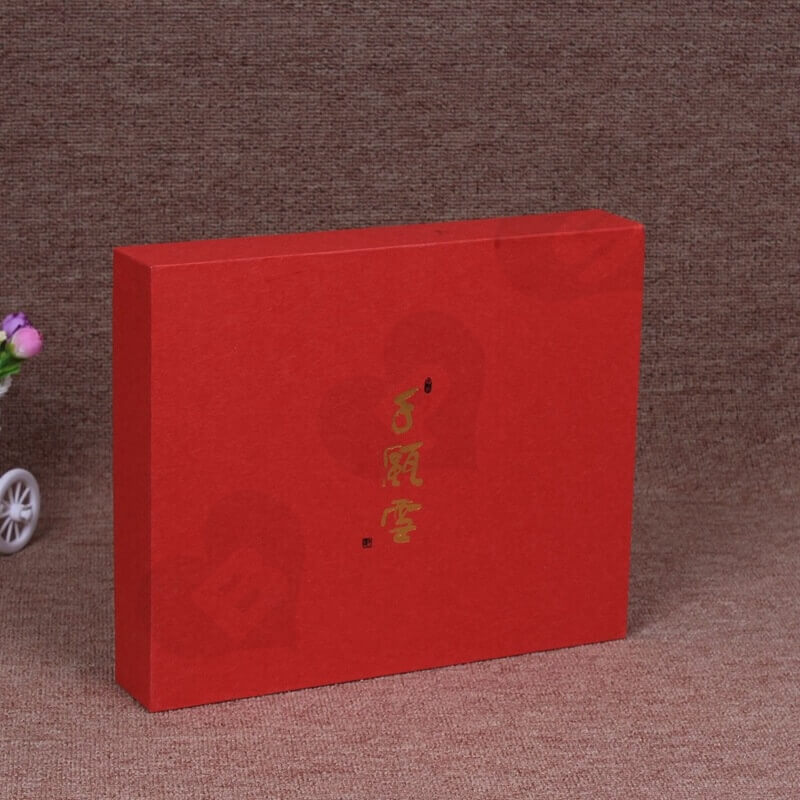 Customized Rigid Box With Insert For Comb side view two