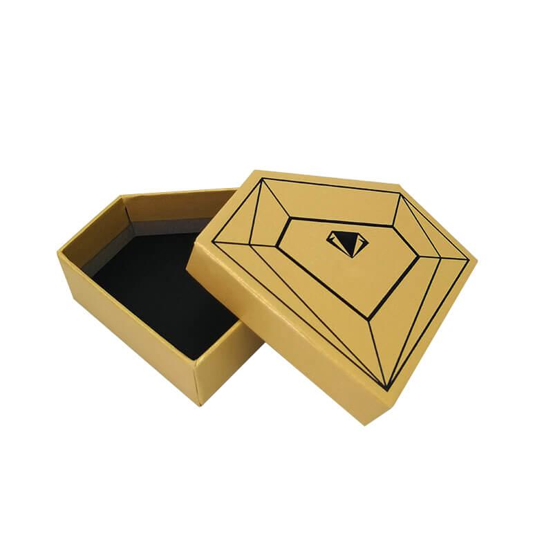 Diamond Shape Cardboard Gift Packaging Box