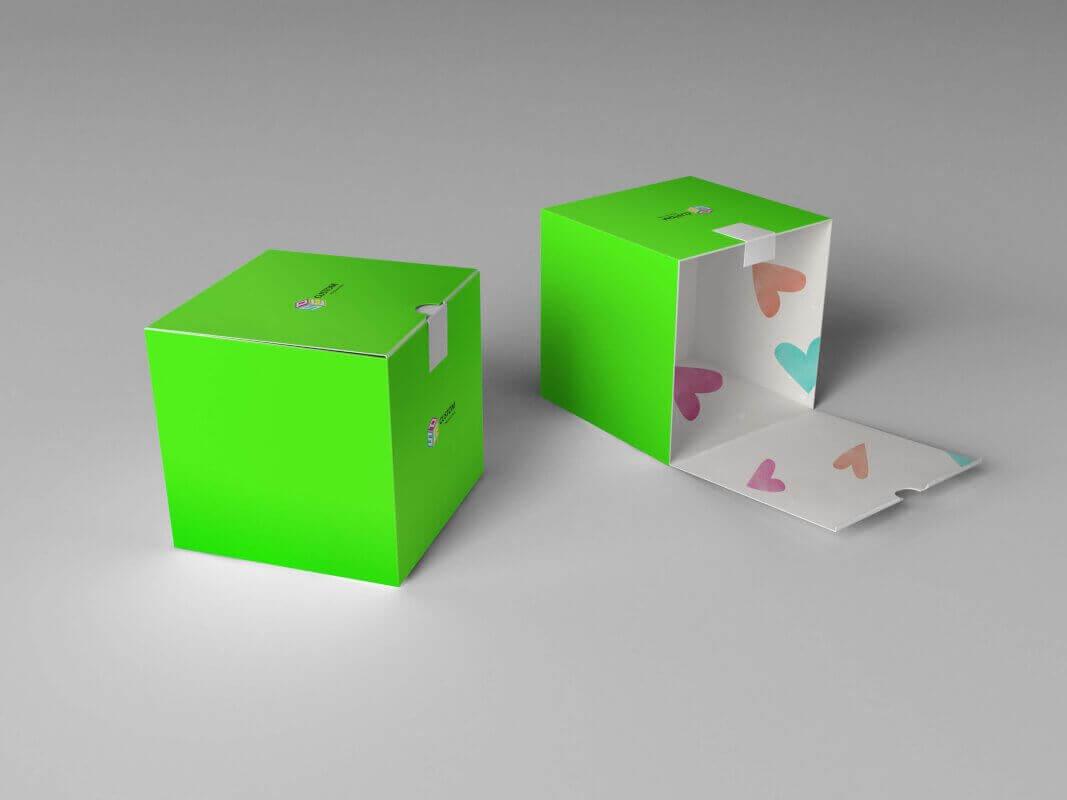 Double Side Printed Paperboard Carton Custom Printed