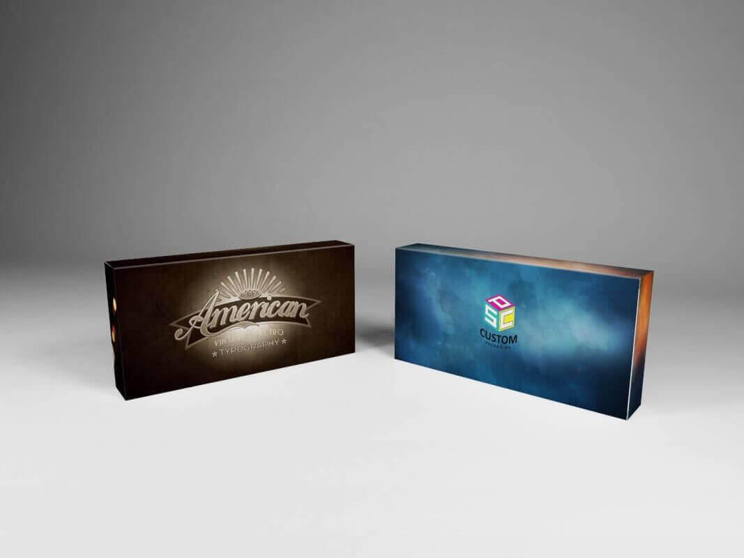 Electronic Packaging Box Mockup Design