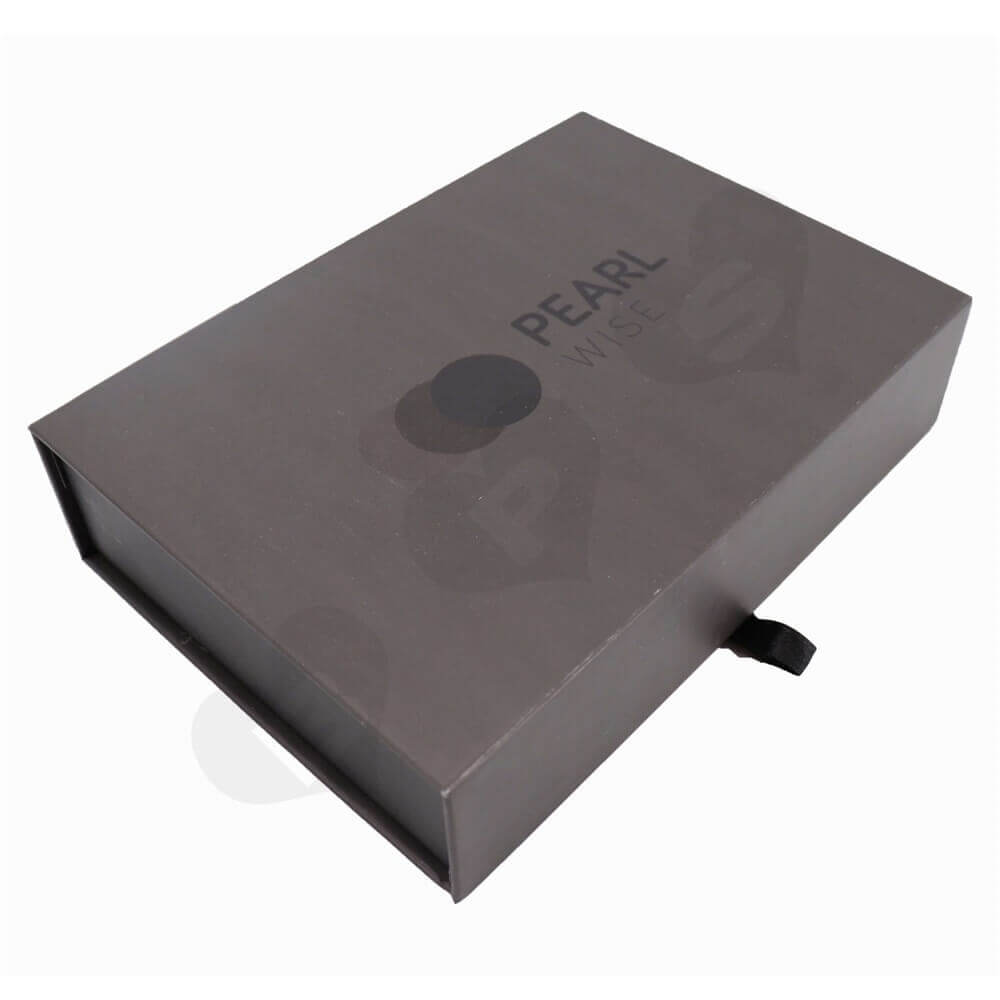 Gauge Packaging Box Magnet Closure side view one