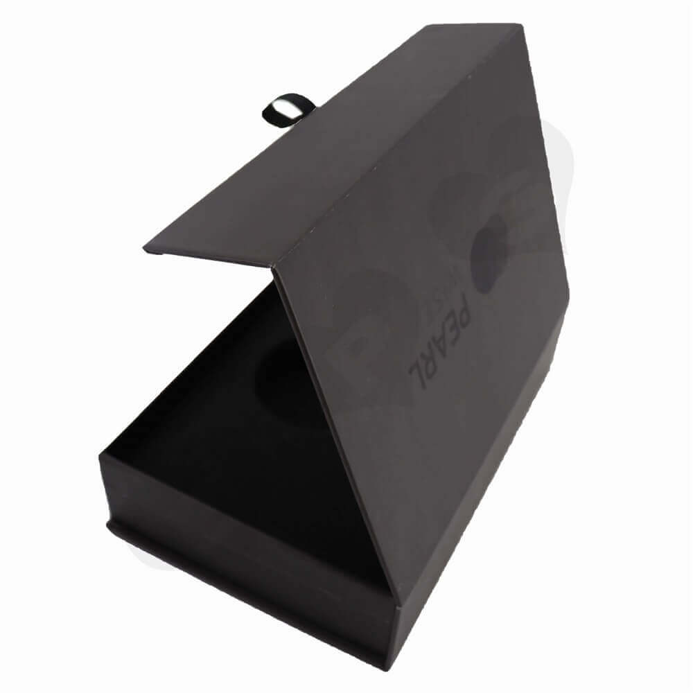 Gauge Packaging Box Magnet Closure side view three