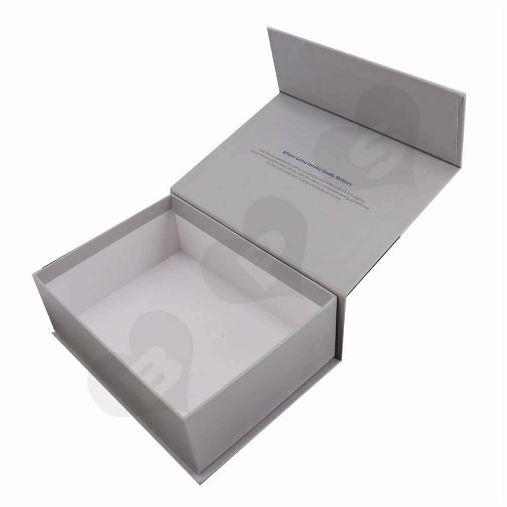 Hearing Aids Rigid Packaging Box side view two