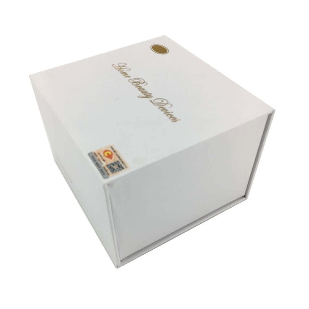 Home Beauty Device Packaging Box With EVA Foam Insert sideview five