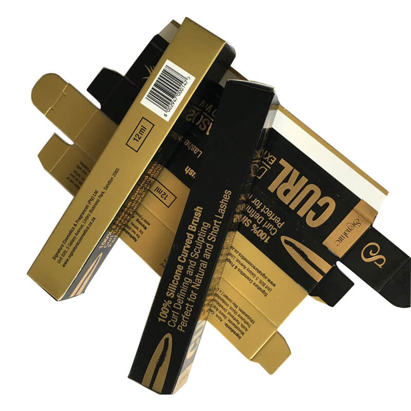 Ivory Board Eyelash Packaging Box