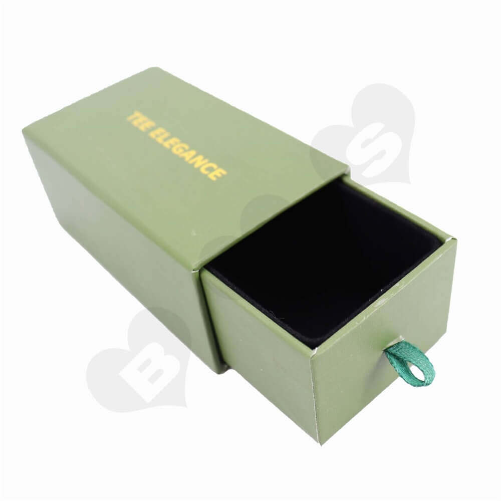 Jewelry Slip Packaging Boxes sideview four