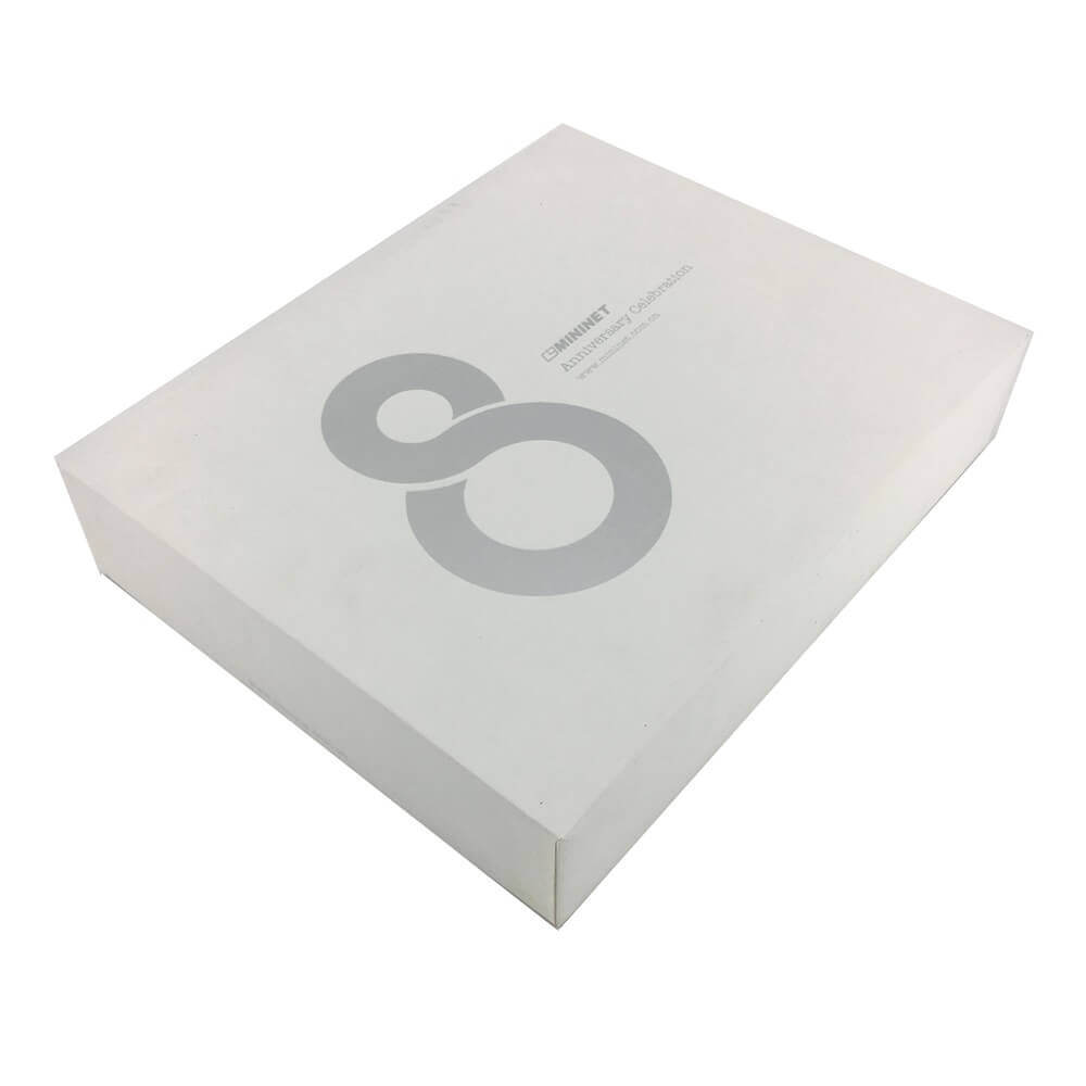 Network Device Rigid Packaging Box Side View Three