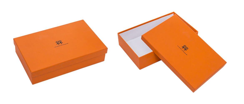 Pantone PMS color printed apparel packaging box
