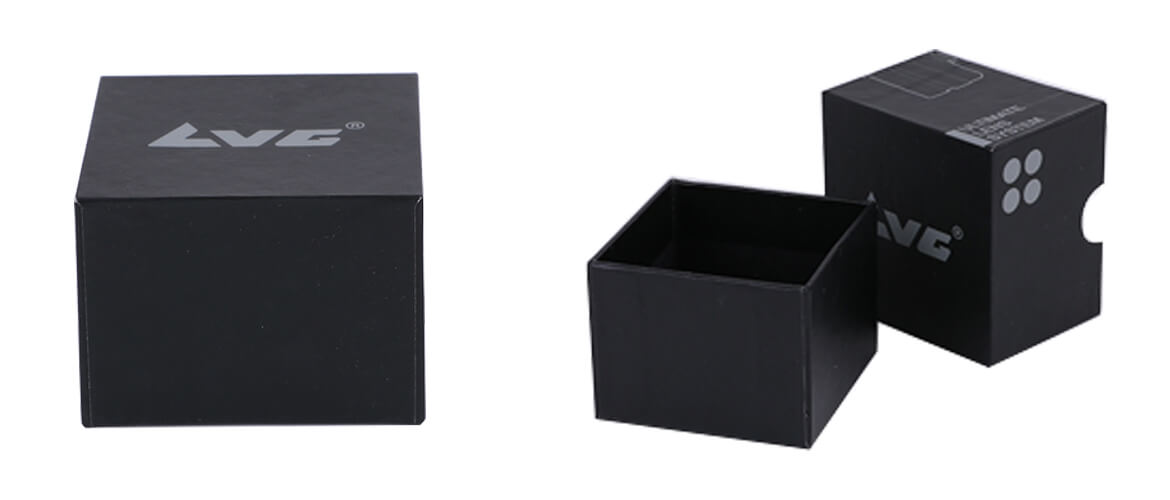 Rigid top and bottom packaging box insert for phone lens