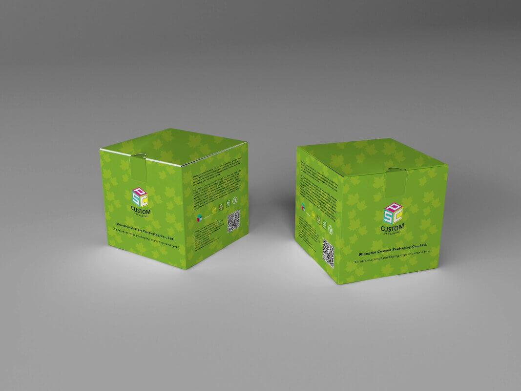 Snap bottom box mockup