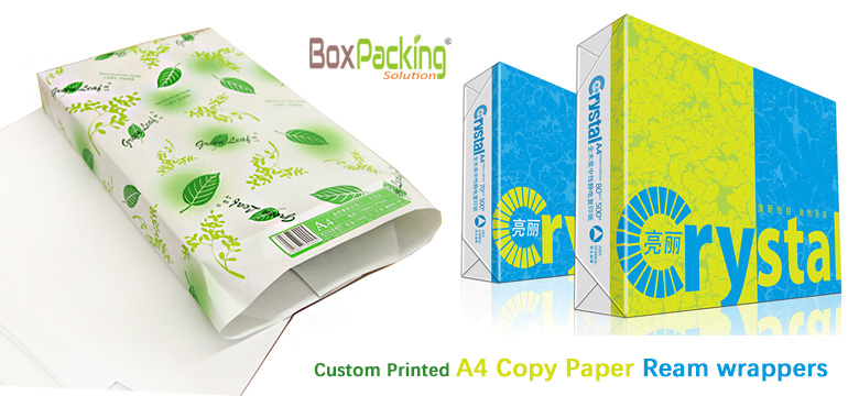 A4 Copy Paper Ream wrappers Manufacturer