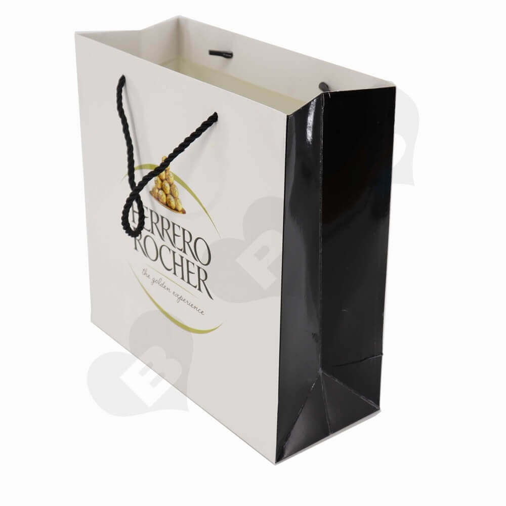 Custom Printed Glossy Chocolate Packaging Bags