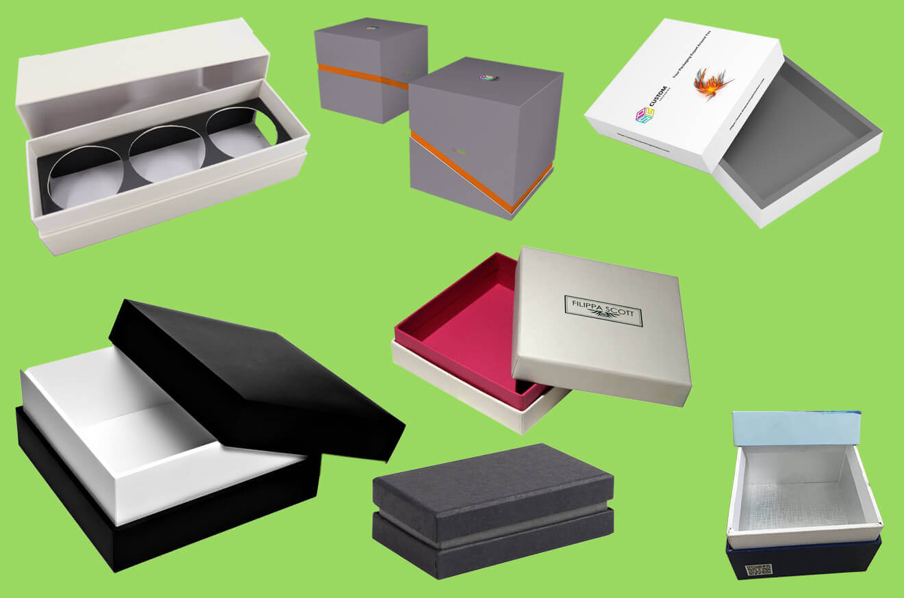 Custom Rigid Gift Boxes