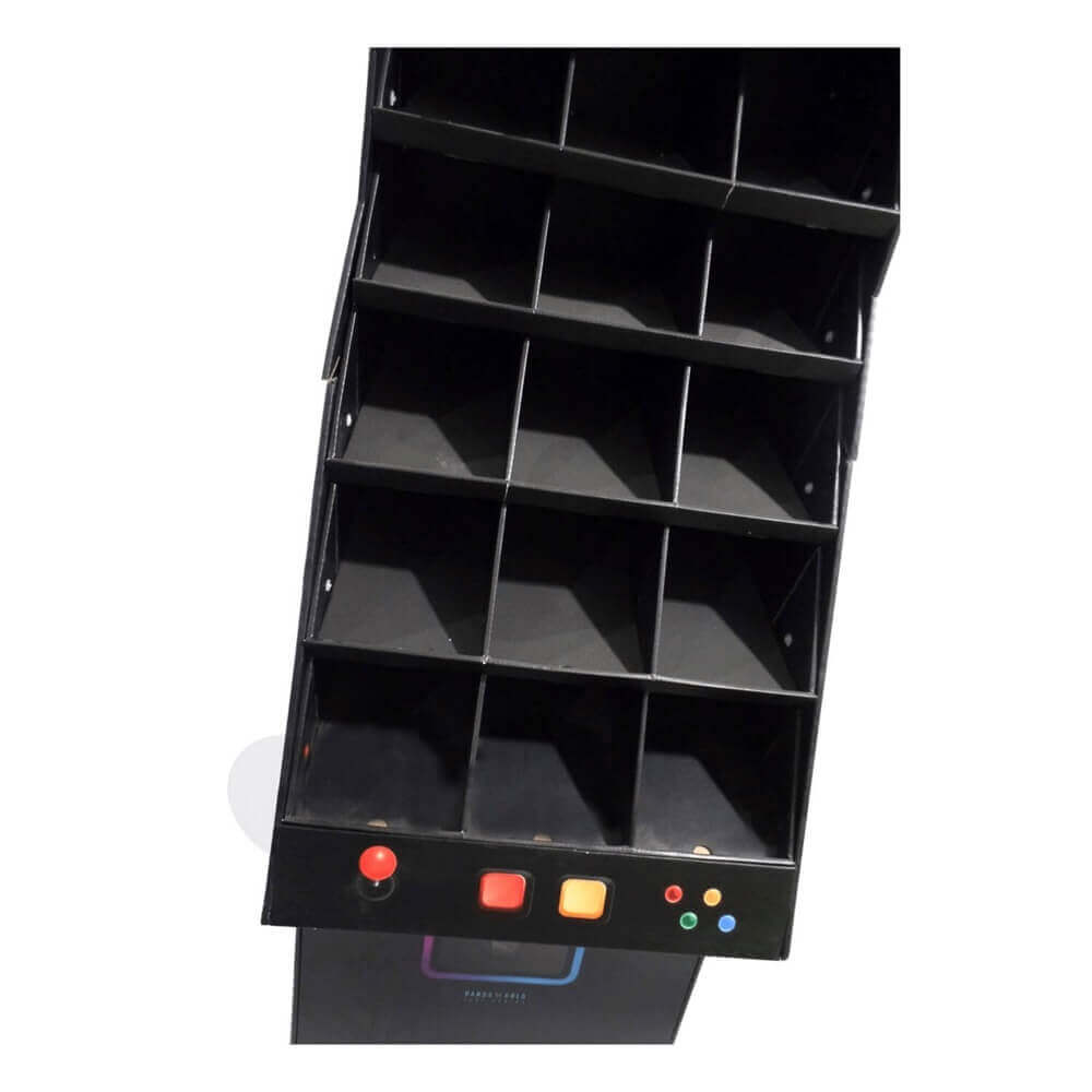 Large Corrugated Pallet Rack for Fruit Sideview Four